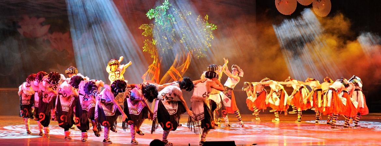 原创舞蹈《羌山红》